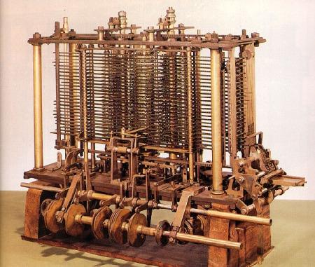 Este foi o primeiro computador. Pequeno, né? :D